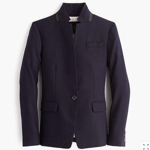 J. Crew Regent blazer in wool flannel Navy Size 6